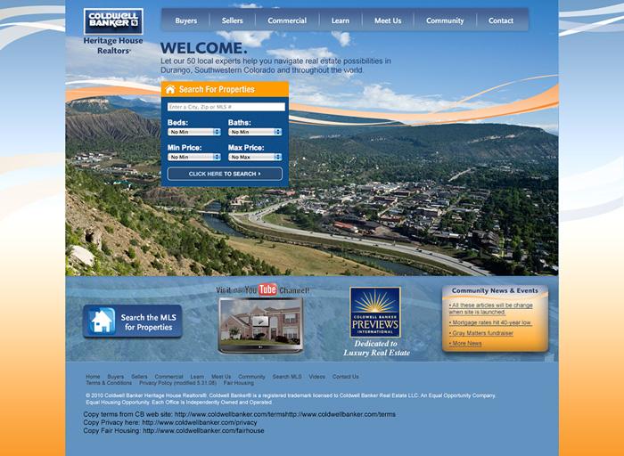 Website Design Coldwell Banker
