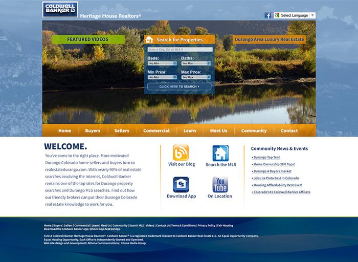 Website Design Coldwell Banker NEW