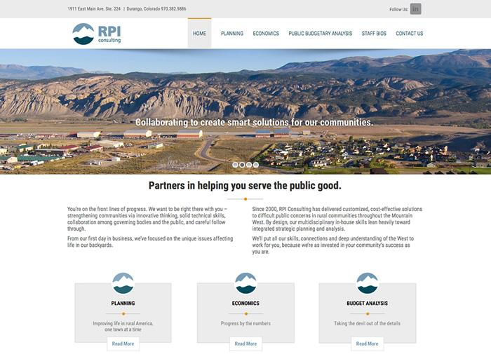 Website Design RPI Consulting