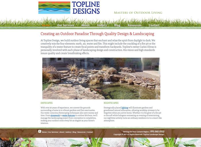 Website Design Topline Designs
