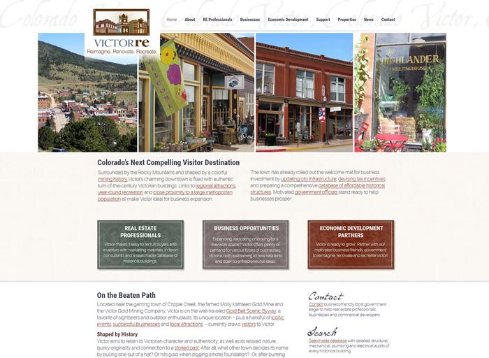 Website Design Victor Re