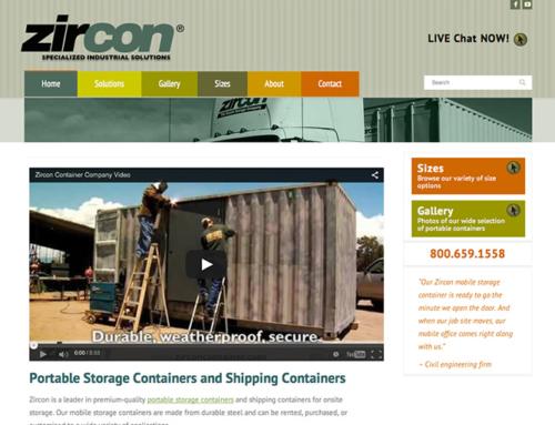 Zircon Container