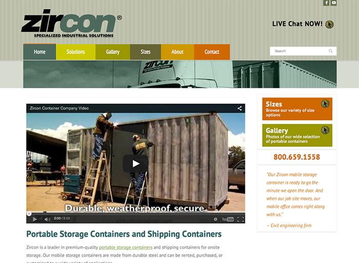 Website Design Zircon