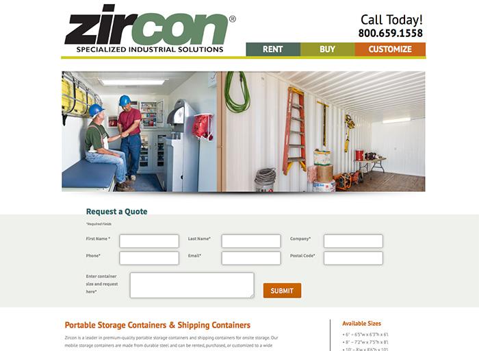 Website Design Zircon 2