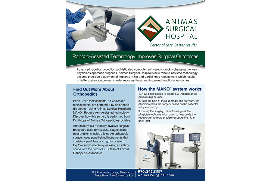 Animas Surgical Hospital Sale sheet