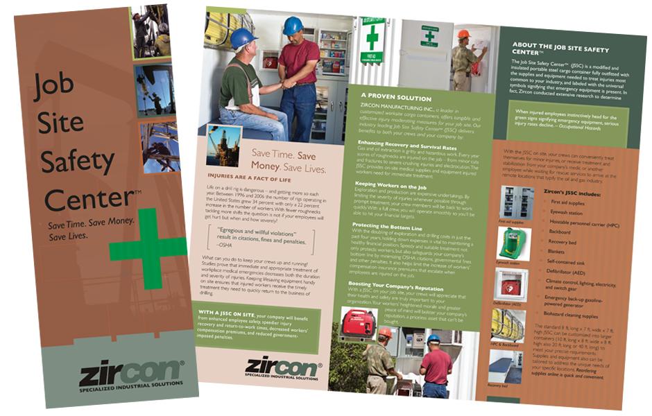 Zircon container brochure