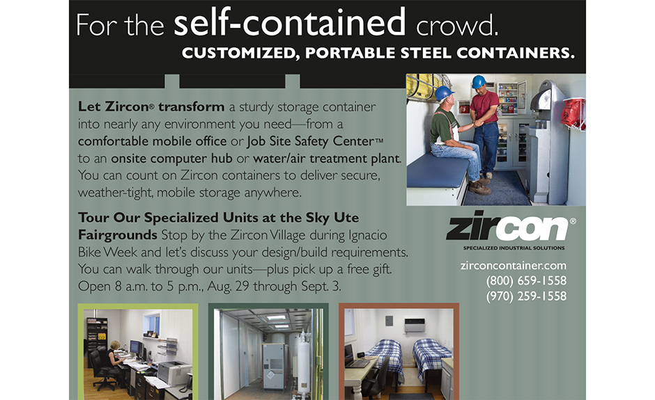 Zircon container ad