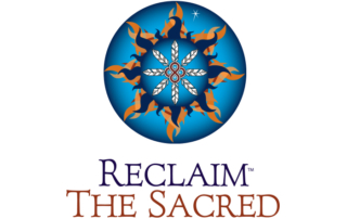 Recliam the Sacred logo