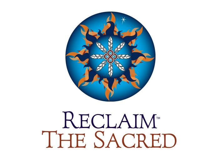 Recliam the Sacred logo