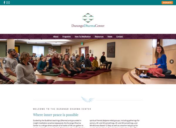 Durango Dharma Center Home page