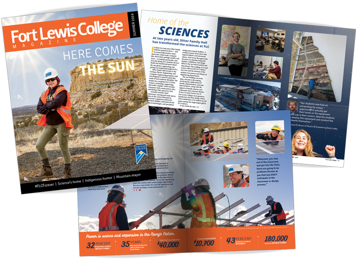 Fort Lewis Collage Magazine Summer 2019