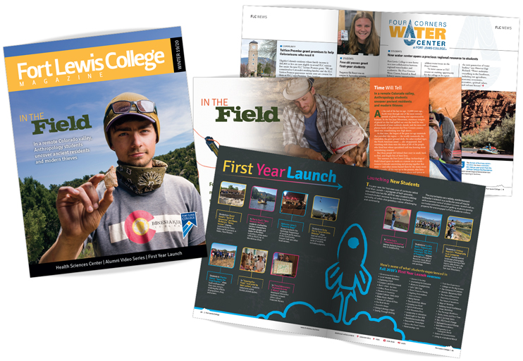 Fort Lewis College Winter Magazine