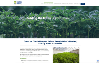 Clutch Hemp Holdings website about page
